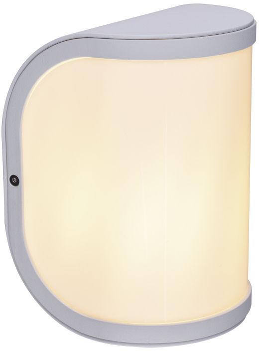 Globo SEGGA 32128W kinkiet lampa ścienna zewnętrzna biały mat 1xE27 20cm IP44
