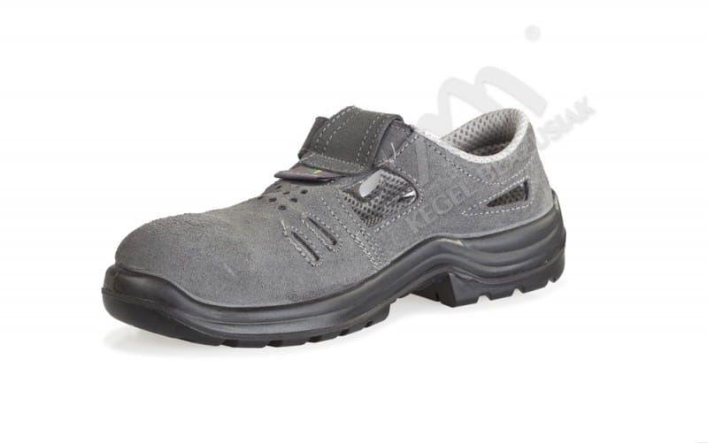 Sandał roboczy Komfort S1+P ciemny szary