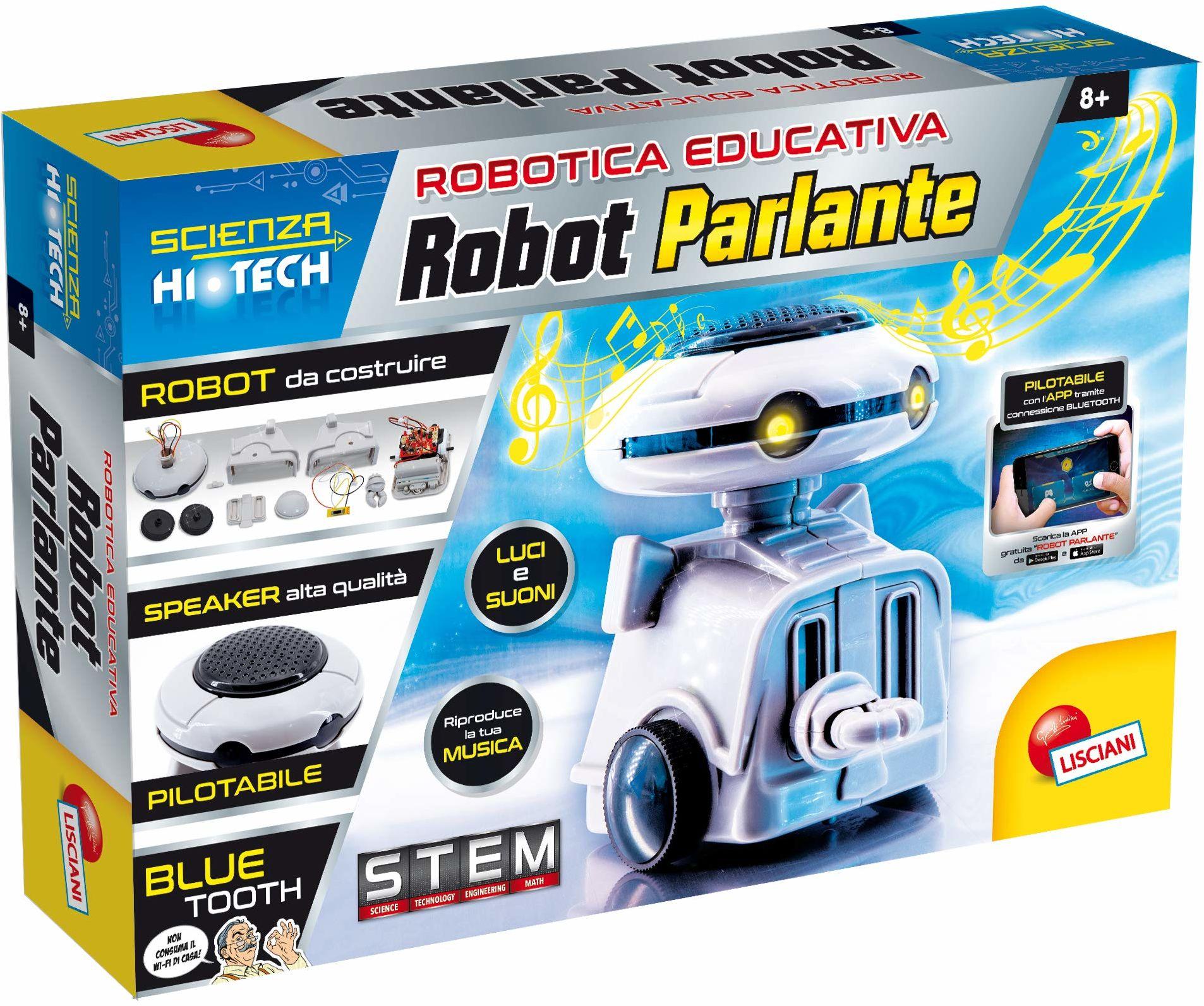 Lisciani Giochi  naukowy Hi Tech Bluetooth 68746 robot mówiący