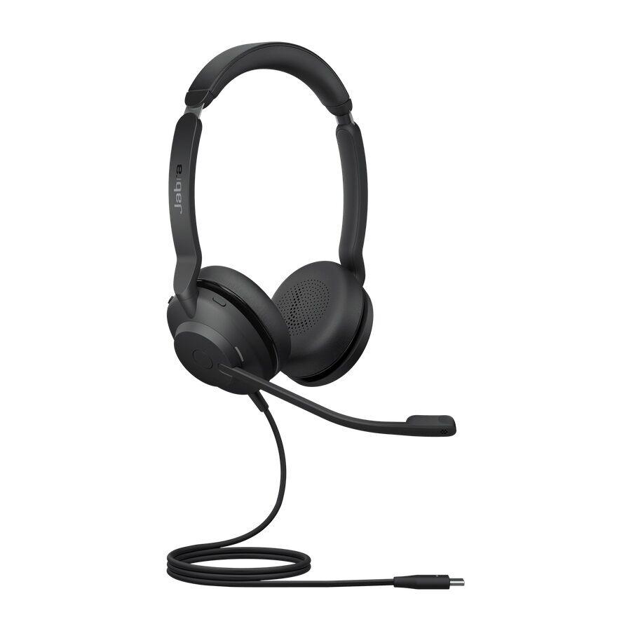 Jabra Evolve2 30 UC Stereo USB-C Zestaw nagłowny przewodowy na dwoje uszu