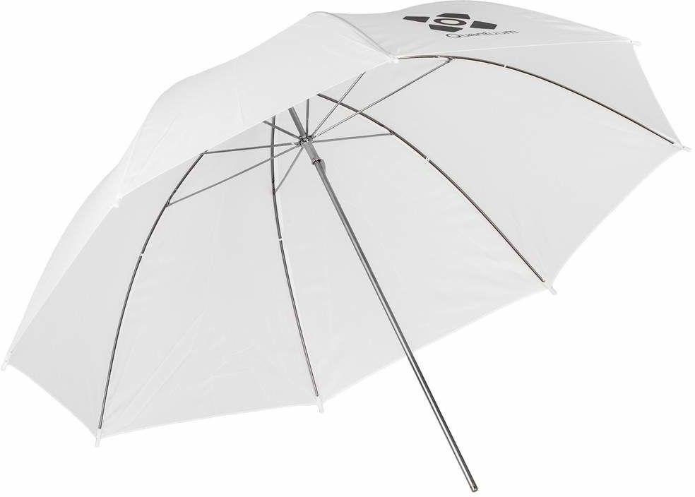 Quadralite Umbrella Transparent - parasolka transparentna 91cm Parasolka biała 91cm
