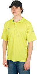 Izas Ordesa koszulka polo z krótkimi rękawami, dla mężczyzn XL, zielony/królewski błękit