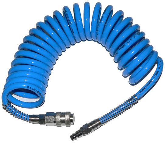Wąż przewód pneumatyczny spiralny 15m 8x12mm