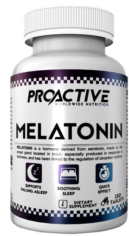 Proactive Melatonin 180tabl