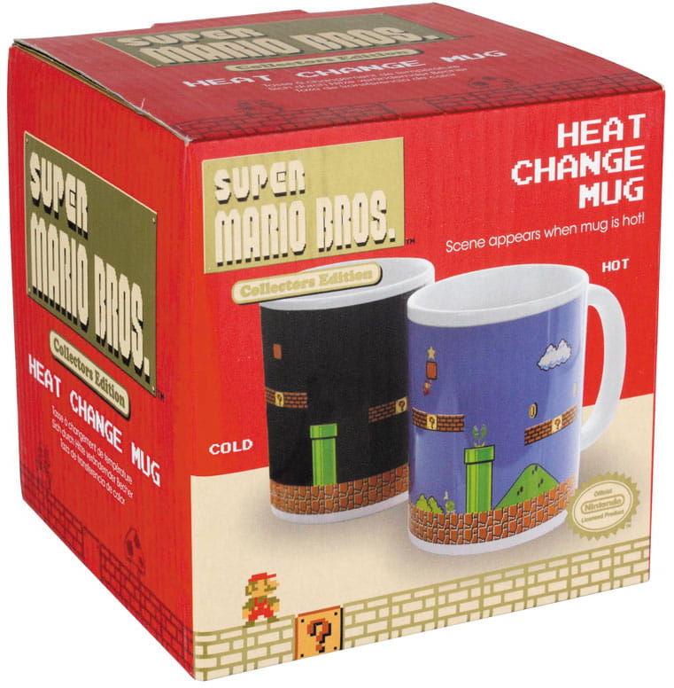Kubek - Super Mario Bros. - Termoaktywny