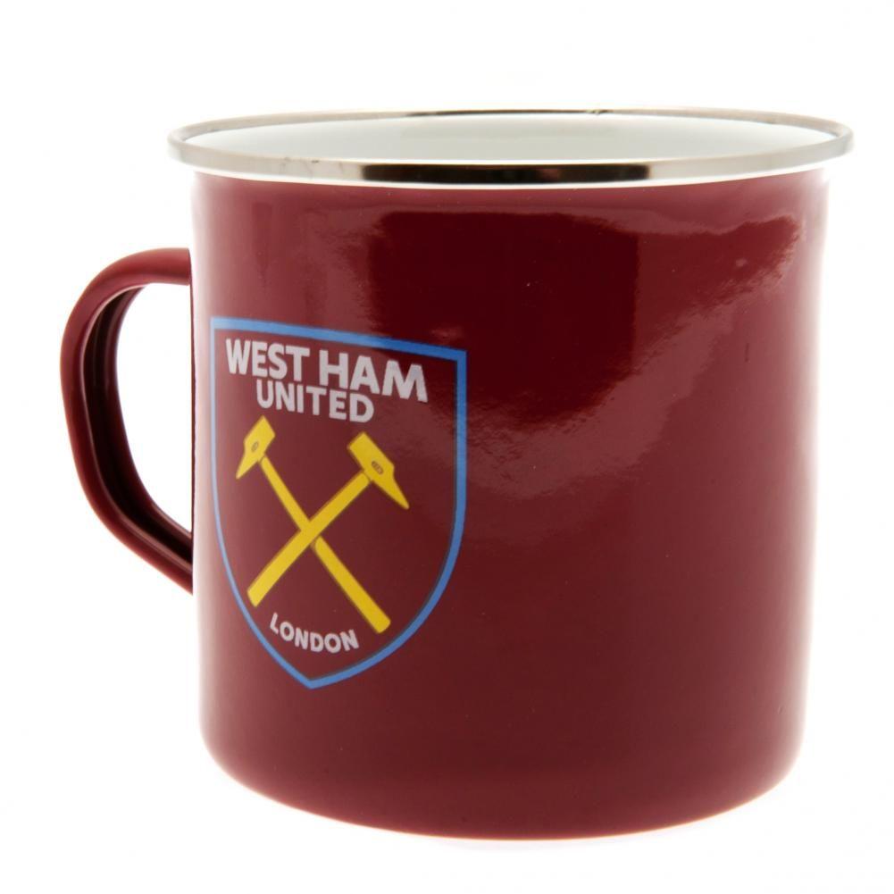 West Ham United - kubek metalowy