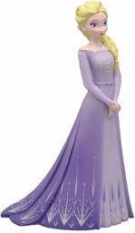 Bullyland Walt Disney, Frozen 2, ELSA z liliową sukienką, figurka do zabawy z detalami ręcznie malowana, z materiału wolnego od PCW, ok. 10 cm, od 3 lat, idealna do fantazyjnych zabaw, 13510
