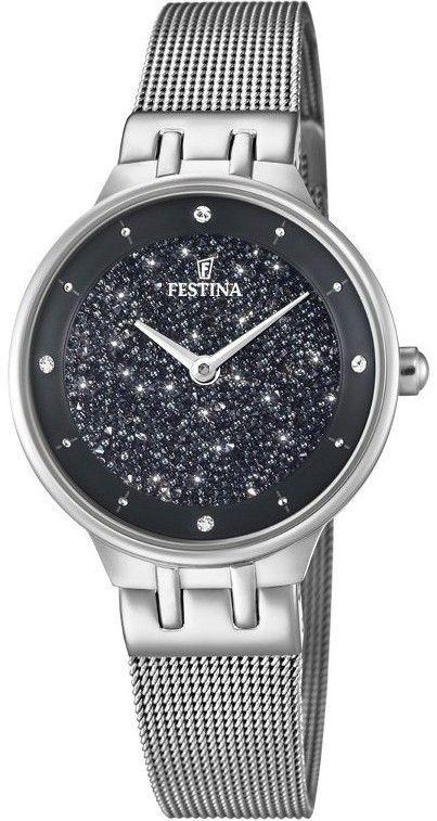 Zegarek Festina F20385-3 Swarovski - CENA DO NEGOCJACJI - DOSTAWA DHL GRATIS, KUPUJ BEZ RYZYKA - 100 dni na zwrot, możliwość wygrawerowania dowolnego tekstu.
