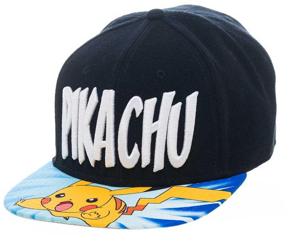 Czapka Pokemon - Lightning Pikachu