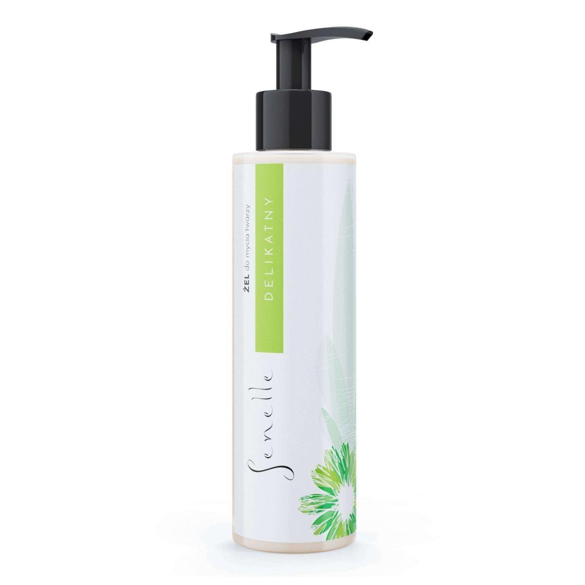 Delikatny żel do mycia twarzy - 150ml - Senelle Cosmetics