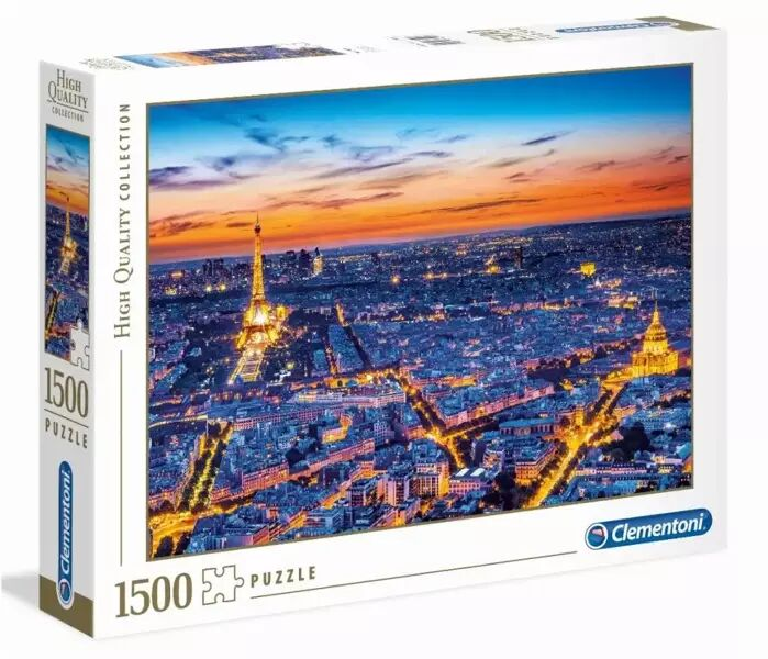 Puzzle 1500 HQ Paris View