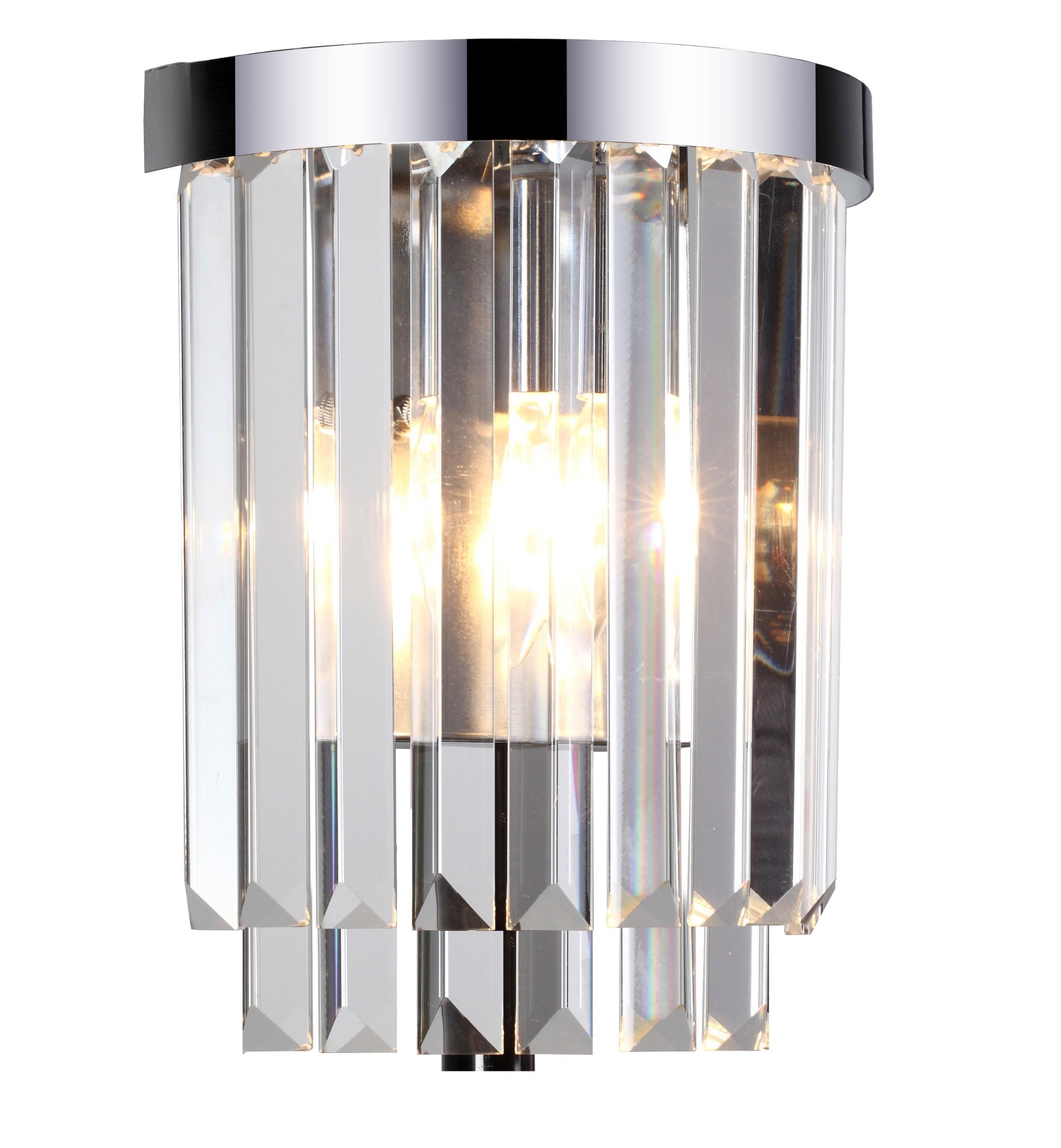 Kinkiet Vetro kryształowy LP-2910/1W - Light Prestige Do -17% rabatu w koszyku i darmowa dostawa od 299zł !