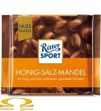 Czekolada Ritter Sport Honig-Salz-Mandel 100g