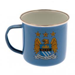 Manchester City - kubek metalowy