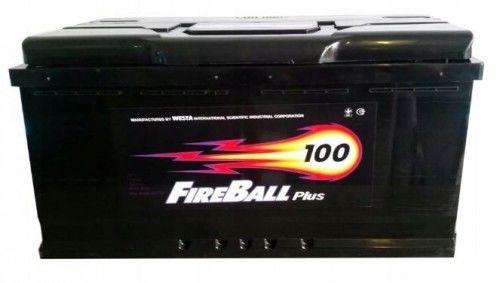 Akumulator FIRE BALL 100Ah 800A Prawy+