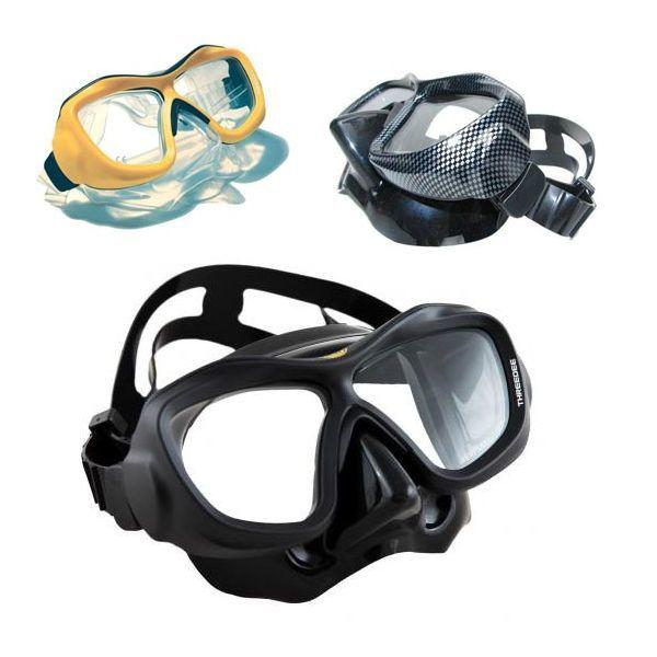 Poseidon ThreeDee - maska do nurkowania z korekcją