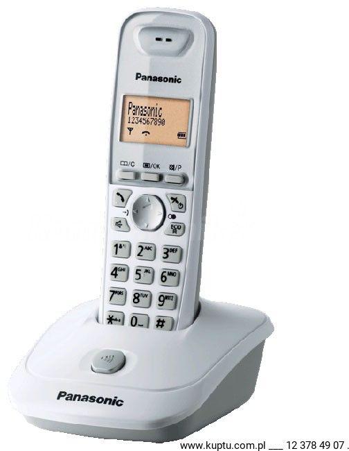 KX-TG2511PDW telefon bezprzewodowy