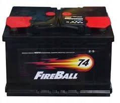 Akumulator FIRE BALL 74Ah 680A Prawy+