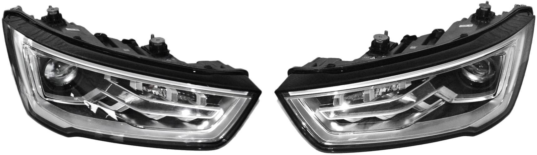 2x Nowe Kompletne Reflektory Lampy Bixenon Xenon Led Do Audi A1 S1 8X Facelift 8XA941005