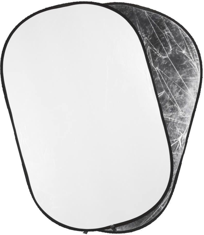 Quantuum blenda biało srebrna 91x122cm gat. II