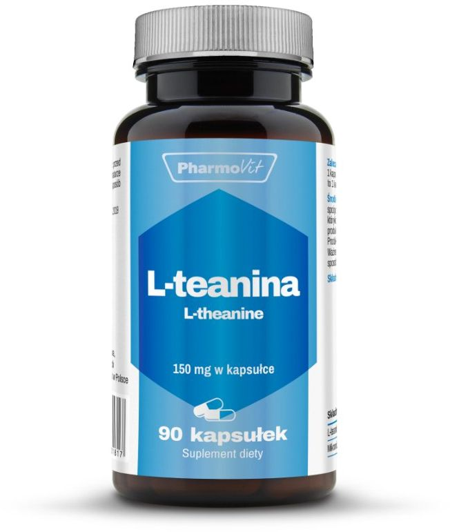 L-Teanina 150mg (90kaps) L-Theanine Pharmovit