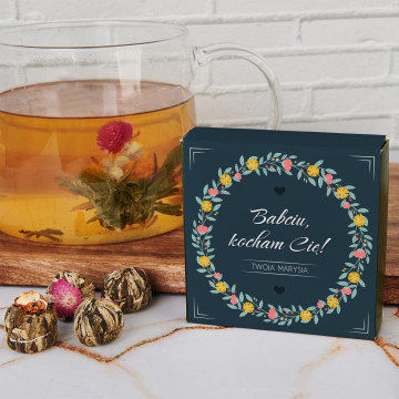 Babciu, kocham Cię - Herbata kwitnąca