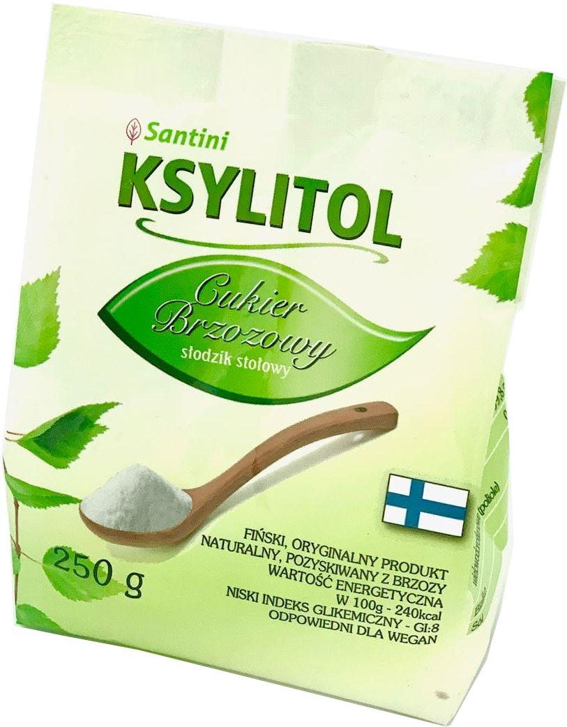 Ksylitol Fiński Torebka 250g - Santini