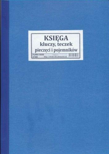 Księga kluczy, teczek, pieczęci i pojemników [Pu/Wkt-108]