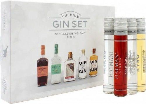 Zestaw Premium Gin Set Geniesse die Vielfalt 5x50ml