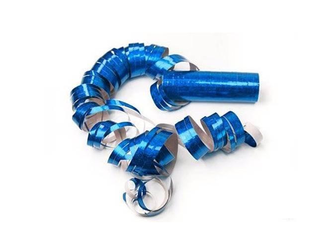 Serpentyna holograficzna - niebieska - 18 szt.