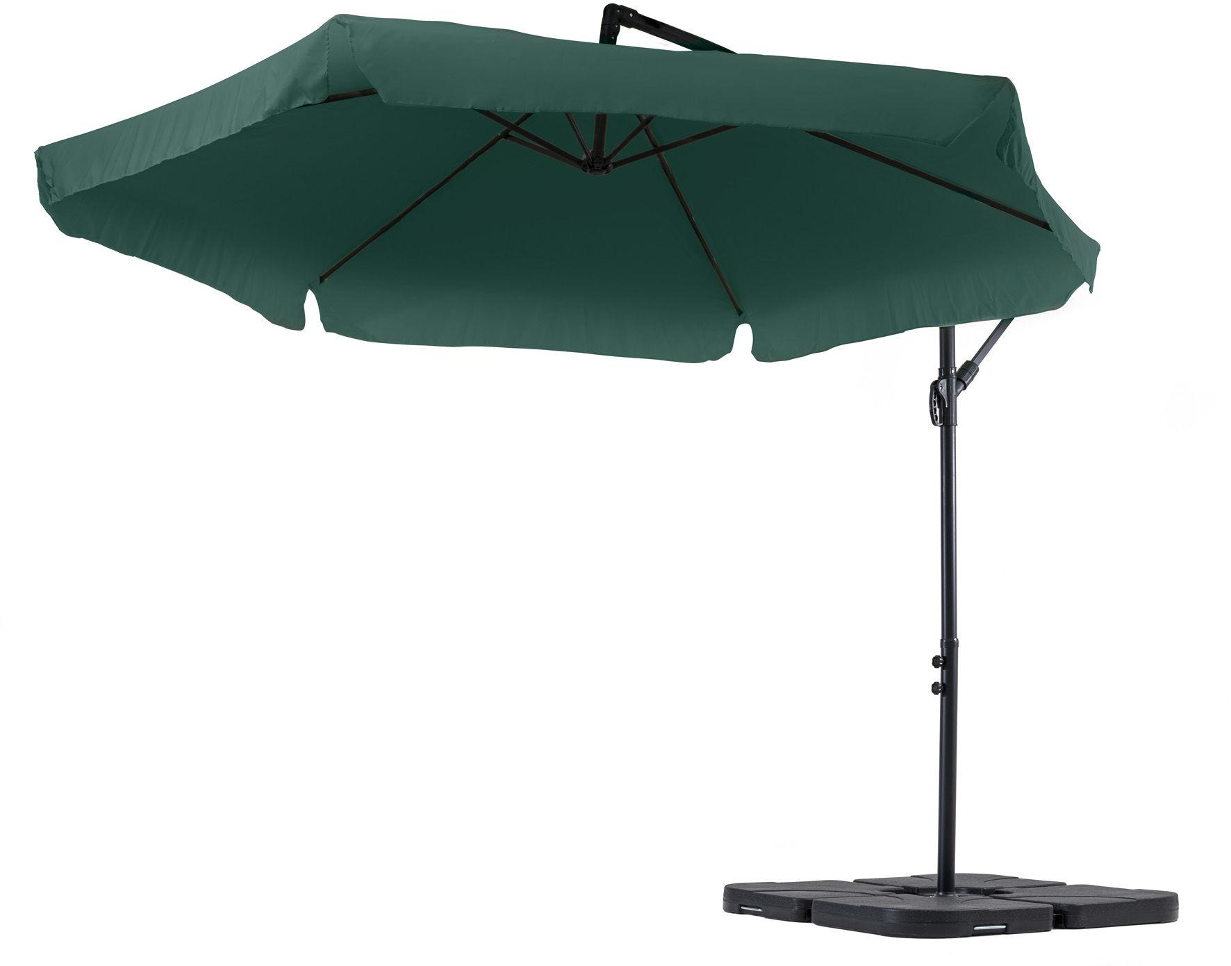 Parasol ogrodowy Empoli 300cm - Zielony