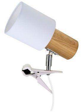 SPOTLIGHT Treehouse Clips kinkiet 1-punktowy dąb olejowany z klamrą 2236174WK