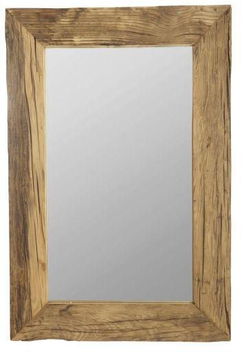 House Doctor PURE NATURE Lustro Ścienne w Drewnianej Ramie 60x90 cm