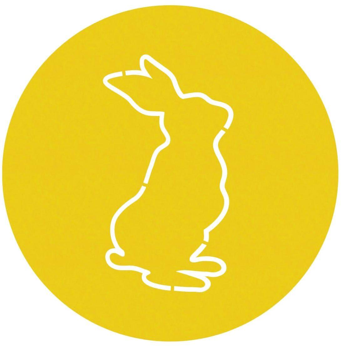 Podstawka pod talerz - Zajączek Wielkanocny - 36 cm - 1 szt.