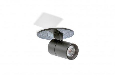 Reflektor Lina AZ2708 AZzardo ruchoma oprawa w kolorze czarnym