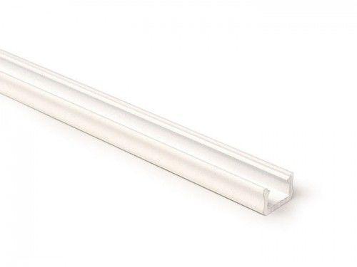 PROFIL typ X 2m biały aluminiowy nawierzchniowy wąski SLIM lakierowany do TAŚMY LED