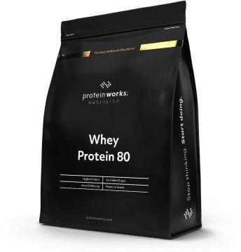 The Protein Works Białko Whey 80 500 g truskawki i śmietana