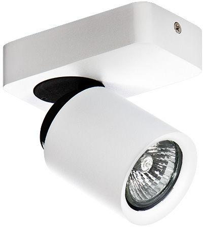 Reflektor Tomi 1 AZ0662 AZzardo biała oprawa w nowoczesnym stylu
