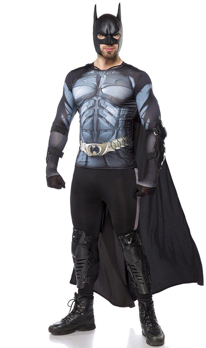 Mask Paradise 80115-002-026 Batman 80115, zestaw kostiumowy dla mężczyzn (L), czarny