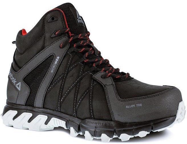 IB1052S3 Buty ochronne Reebok Trailgrip Work Athletic Mid Cut S3 SRC kolor CZARNY