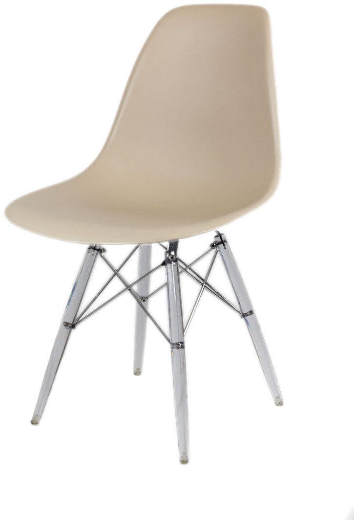 Sk Design Kr012 Beżowe Krzesło Lodowe