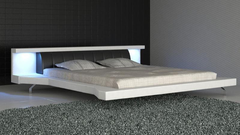 Łóżko tapicerowane Soul Led 180x200