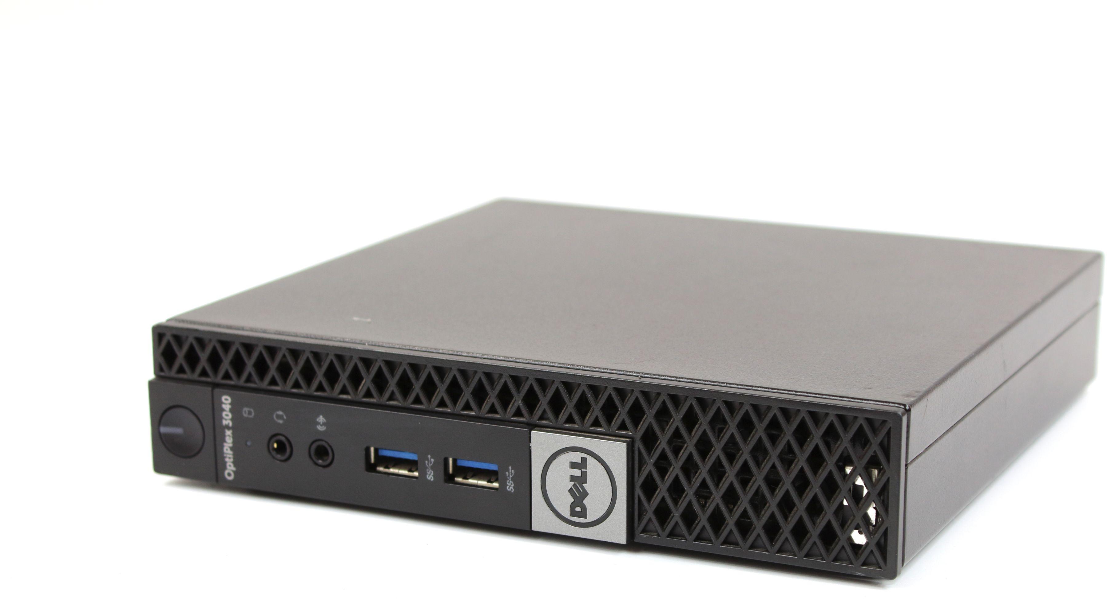 Komputer Dell OptiPlex 3040 Micro i3-6100T 2x3.20GHz 8GB 500GB WiFi - Windows 7/8/10 Professional