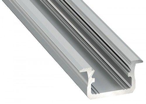 PROFIL typ B srebrny anodowany wpuszczany 2 metry