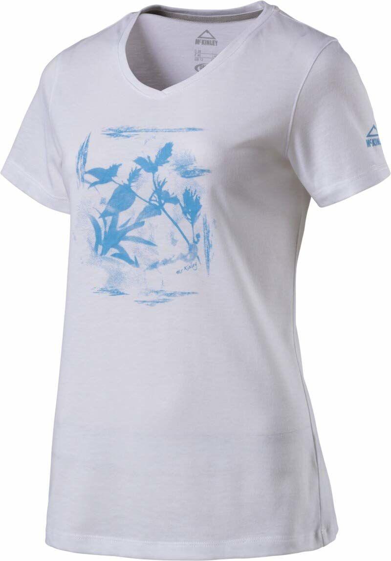 Mckinley damska koszulka Kreina, biała, rozmiar 44