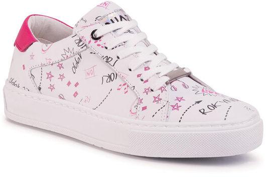 Sneakersy QZ-64-04-000671 Biały