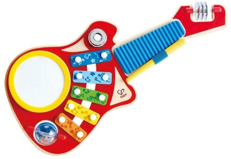 Zabawka muzyczna 6w1 Mały kompozytor E0335-Hape, instrumenty dla dzieci