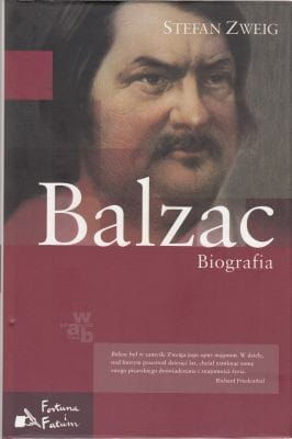 Balzac Biografia Stefan Zweig