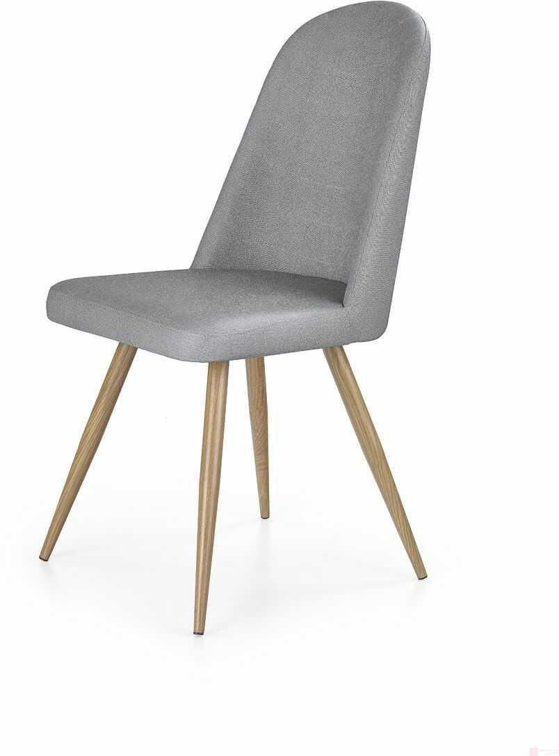 Krzesło K-214 Halmar Szary