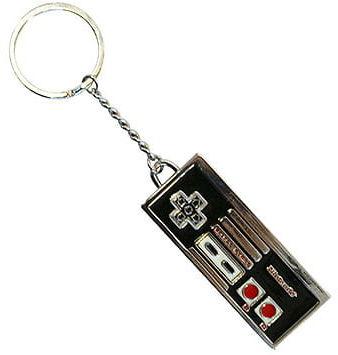 Breloczek do kluczy Nintendo - NES Controller metal